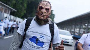 Jornada de protestas en las calles de San Salvador