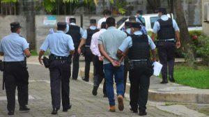 Imágenes de la condena a policías del GRP por encubrir a asesino de Carla Ayala