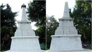 """¿Dónde está el Águila de bronce? """"Desaparece"""" figura histórica en monumento del parque Infantil, en San Salvador"""