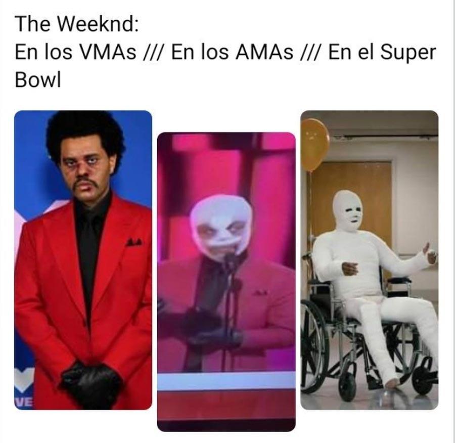 Memes-el-polemico-atuendo-de-The-Weeknd-en-los-American-Music-Awards-027