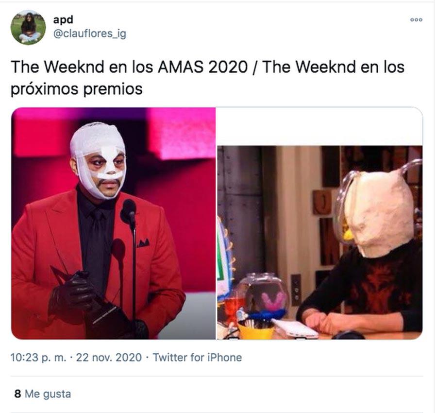 Memes-el-polemico-atuendo-de-The-Weeknd-en-los-American-Music-Awards-028