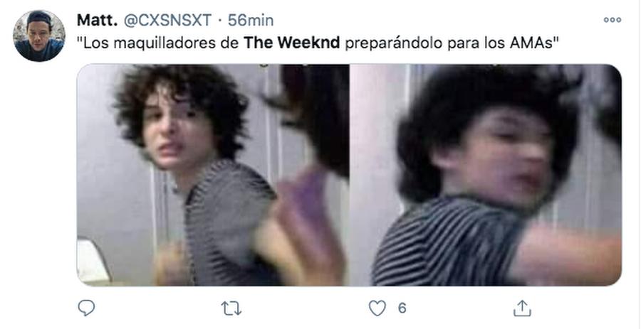 Memes el polemico atuendo de The Weeknd en los American Music Awards 02