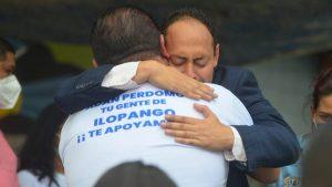 """""""Al que me quiso hacer mal, yo lo perdono"""": Alcalde de Ilopango al quedar en libertad"""