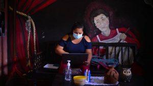 Así es Malakates, el café solidario en el centro de Quezaltepeque