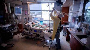 La difícil situación de los hospitales que atienden casos COVID-19 en San Diego, California