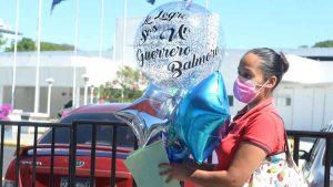 """""""Dios en ningún momento lo dejó solo"""": esposa de paciente que superó el COVID-19 en Hospital El Salvador"""