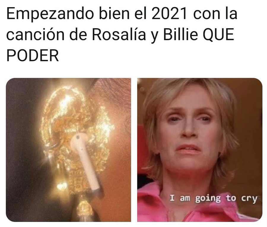 Memes Rosalia y Billie Eilish_09