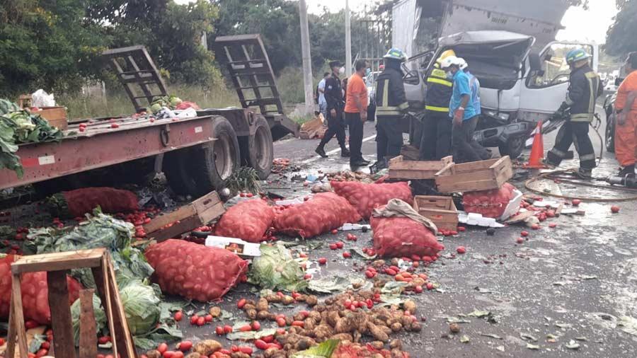 accidente fallecida Santa Ana_01