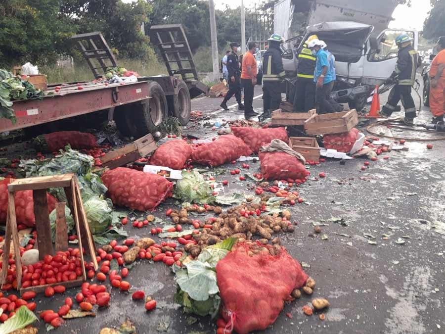 accidente fallecida Santa Ana_06