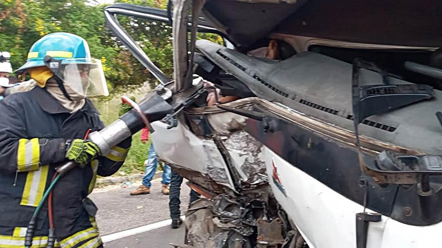 accidente fallecida Santa Ana_09