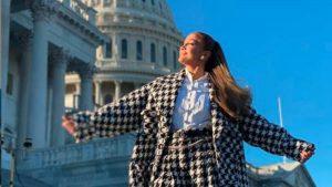 Jennifer López causa furor en redes a pocas horas de su participación en la toma de posesión de Biden