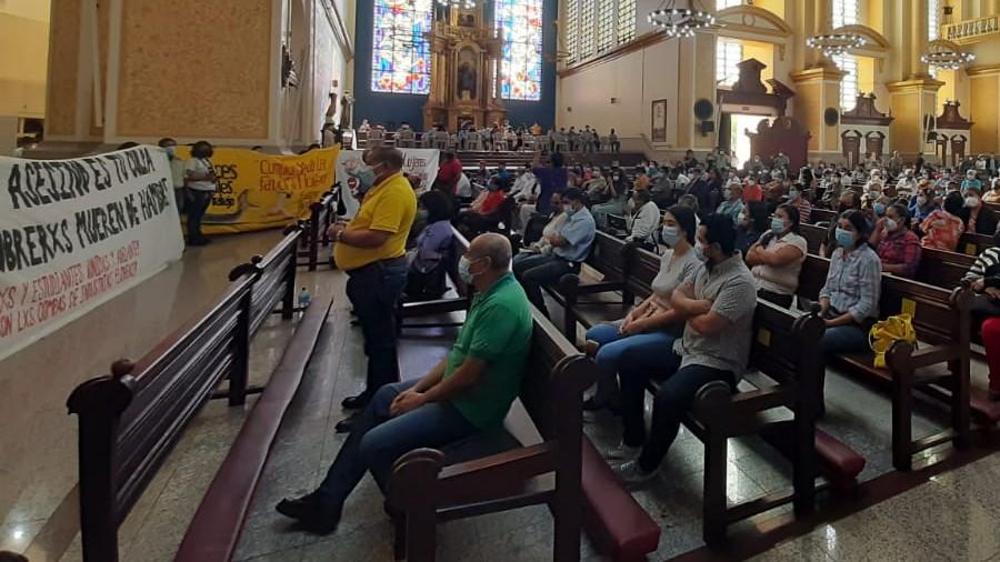 Protesta Catedral 05