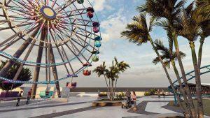 8 imágenes que muestran cómo será el parque de diversiones en el proyecto Surf City