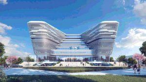 Así luciría el nuevo edificio de la Biblioteca Nacional en la Plaza Barrios