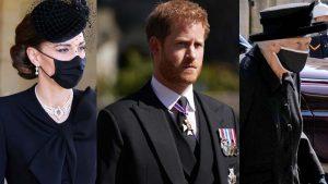 Ellos fueron los invitados exclusivos al funeral del príncipe Felipe de Edimburgo