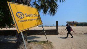 Así avanza la construcción de Surf City en el Puerto de La Libertad