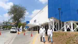 Así luce la adaptación de la fase III del Hospital El Salvador para centro de vacunación