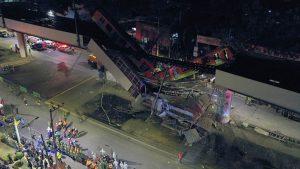 Fotos: Aparatoso accidente en el metro de México deja 23 fallecidos y 70 heridos