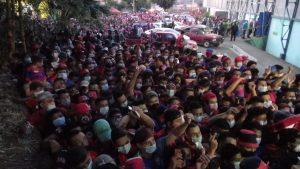 Aglomeraciones: previo al juego aficionados del FAS se quedan sin boleto en el estadio Las Delicias
