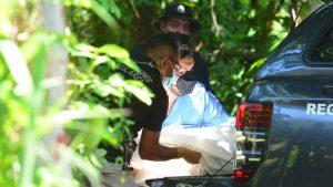 Hombre fue estrangulado y su cadáver fue lanzado a un barranco en Santiago Texacuangos