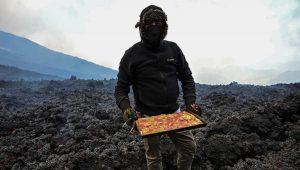 ¿En el volcán Pacaya? Conoce la intrépida forma de hacer pizzas de este cocinero guatemalteco