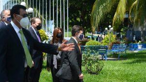 Enviado especial de EE.U.U, Ricardo Zúñiga, se reunió con miembros de la Junta Directiva de la Asamblea Legislativa