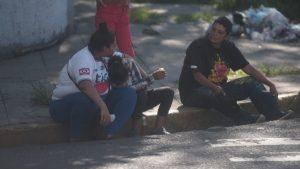 """""""Cómo quedó mi niño"""". Negrito Trigueros,  el indigente que fue atropellado en San Salvador"""