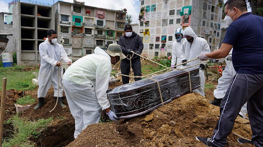 GUATEMALA-HEALTH-VIRUS-VICTIMS