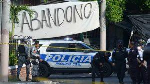 Dos jóvenes fueron asesinados en una barbería en Cuscatancingo