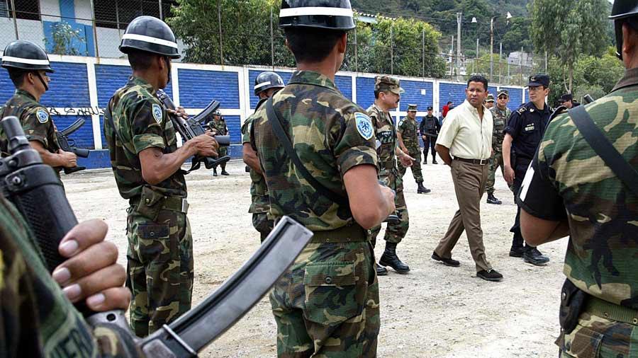 EL SALVADOR-SECURITY-VIOLENCE-GANGS