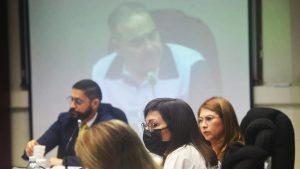 Imágenes: Ana Vilma de Escobar rechaza haber recibido sobresueldos y desmiente a Saca