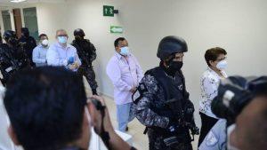 Inicia audiencia inicial contra cinco exfuncionarios de FMLN, se decidirá si continúan en detención