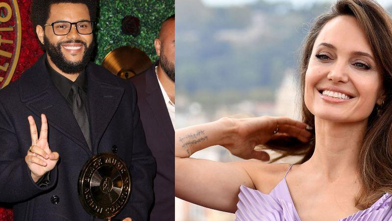 Angelina Jolie ha seducido a The Weeknd y estas fotos lo comprueban