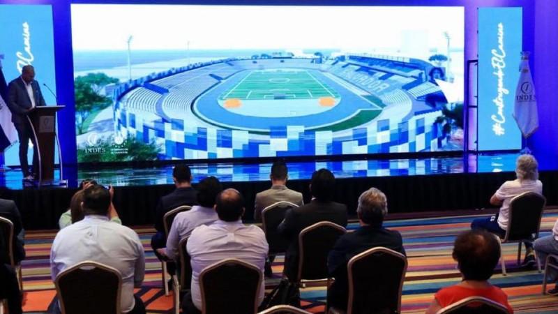 Yamil Bukele anuncia cambios drásticos para mejorar el estadio Mágico González